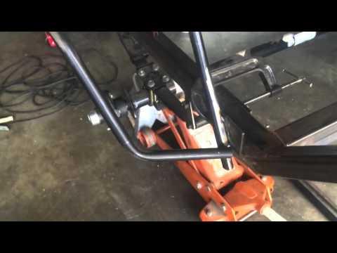 Off road teardrop trailer tube fender build#1