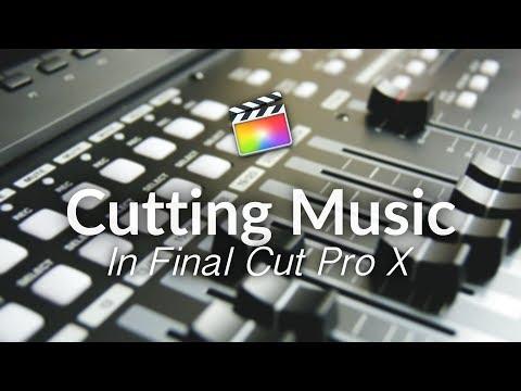 Cutting Music - Final Cut Pro X