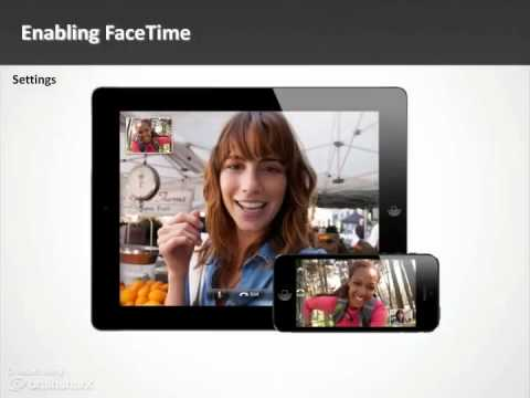 Module 4 iOS Staying Connected with FaceTime Video and more