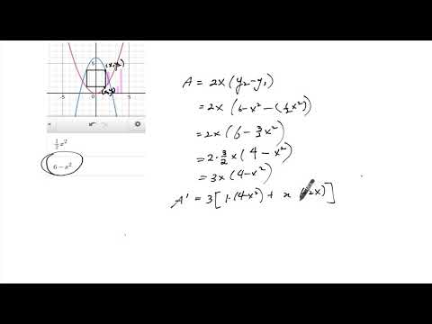 Q4 Optimizing Area between Two Curves