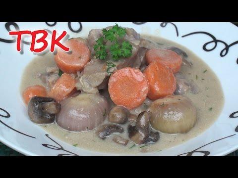 Blanquette de Veau (White Veal Stew) Recipe - Titli's Busy Kitchen