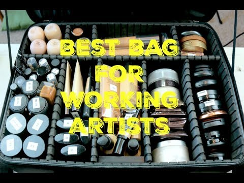 Makeup Artist Series | #12 | Best Bag For Working Artists | Mandy Davis MUA