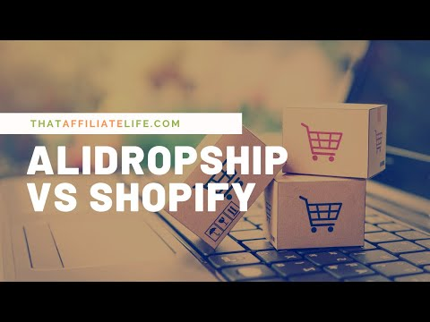 AliDropship vs Shopify for Your Dropshipping Store