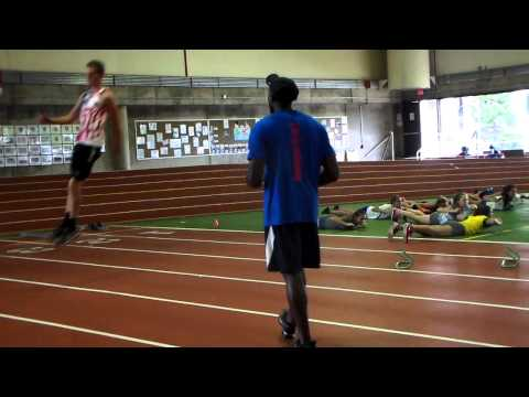 Clinic High Jump Penultimate Step Drill