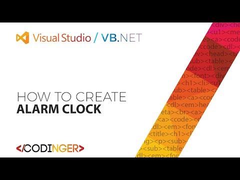 VB.NET - How to create Alarm Clock