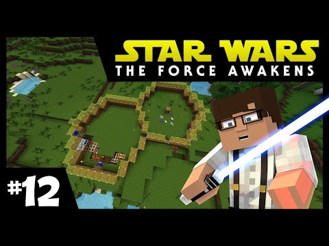 Star Wars: The Force Awakens Ep. 12 || Honey Comb Cityyy || Minecraft Modded Survival