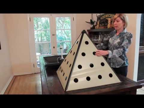 Setting up your Pyramid Garden
