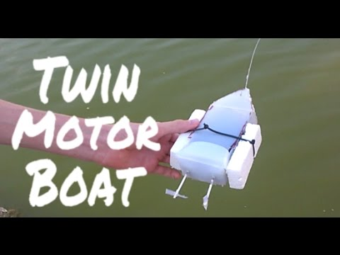 How to make a Twin Motor RC Boat.
