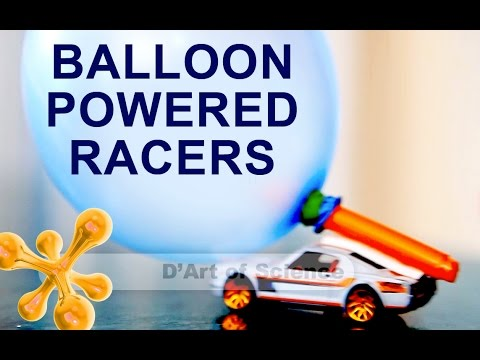 How to Make Balloon Powered Cars