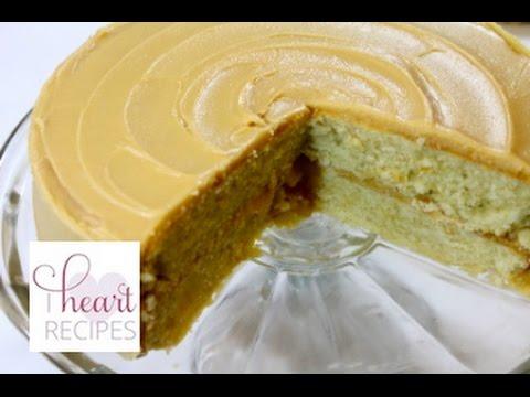 Caramel Cake made from scratch  - I Heart Recipes