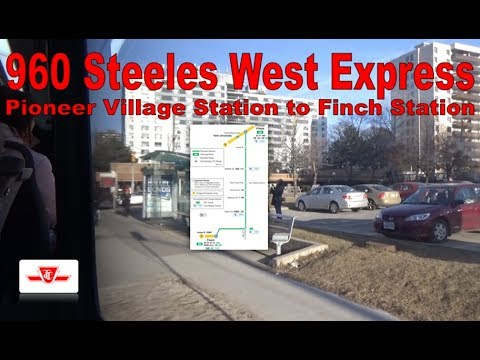 60E Steeles West - TTC 2014 Nova Bus LFS Artic 9109 (Pioneer Village Station to Finch Station)