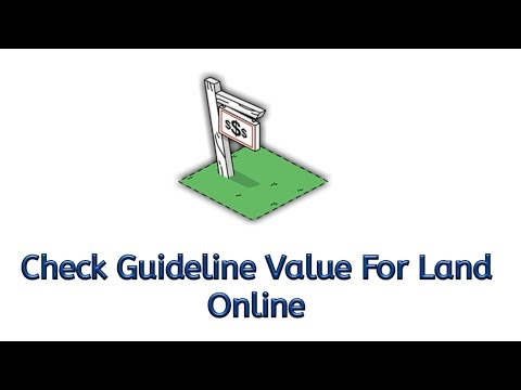 How To Check Guideline Value For your property online