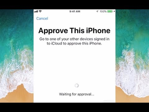 Approve This iPhone iPad iPod - go to one of your devices signed in.... Can't approve Fix