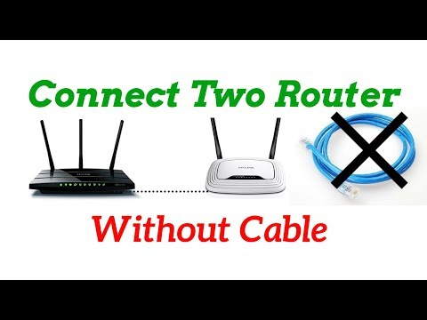 How Connect Two Wifi Router Without Cable WDS Settings 100% Working | Online Ajmir pro