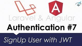 Laravel Angular Authentication with JWT | Laravel CORS