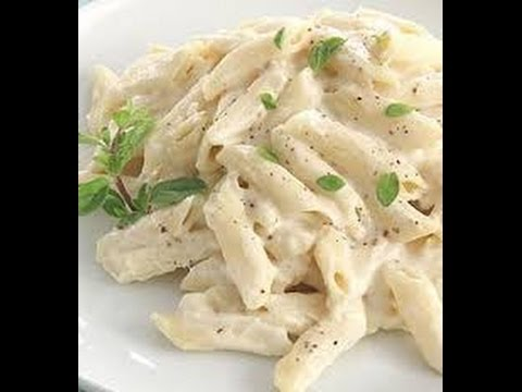 Pasta in white sauce (White sauce pasta) Recipe - Delicious and very easy to make!