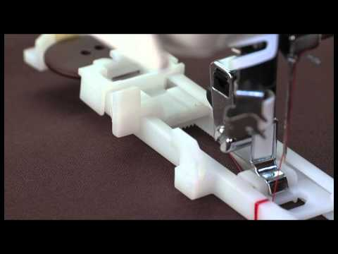SINGER® 1-Step Computerized Plastic Buttonhole Presser Foot Tutorial