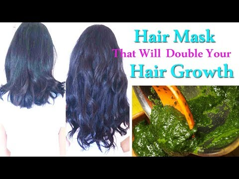 Hair Growth Mask | How to Grow Hair Faster | Secret Recipe for Double Hair Growth Naturally