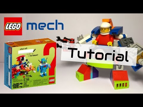 Tutorial - LEGO mech - 10402 alternative build
