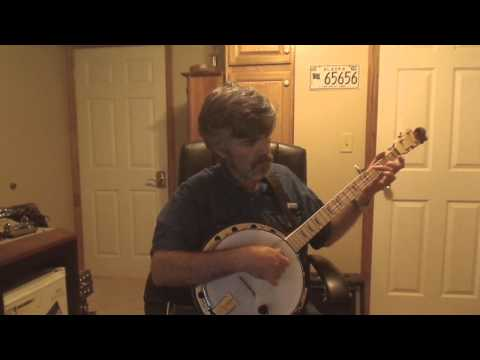 Eighth of January on Double C Tuned Clawhammer Banjo