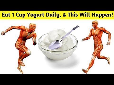 Eat 1 Cup Yogurt Daily To Gain These 7 Impressive Health Benefits!!