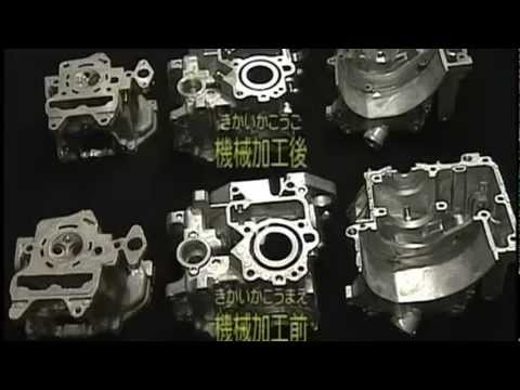 How Factory Build Motorcycle Engine from scratch