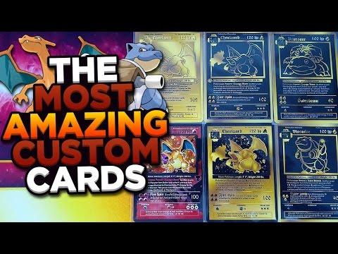 MOST AMAZING Custom Fake Pokemon Cards I've Ever Owned
