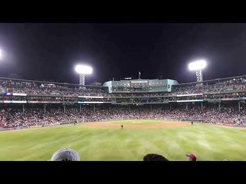 Sweet Caroline at Fenway Park - Boston Red Sox