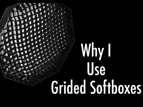 Why I Use Gridded Softboxes