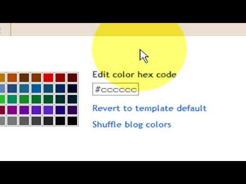 Internet Guide : How to Change Text Color of a Blog