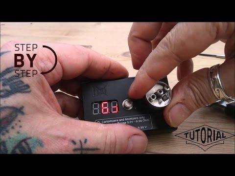How to Install and setup RDA Vaping Coils, using our premade coils  Tutorial