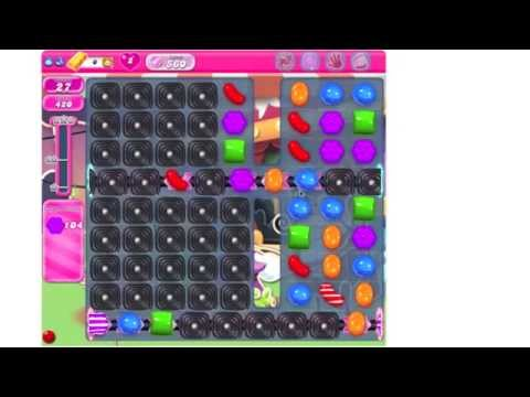 Candy Crush Saga Level 560 ★★★ no boosters (TUTORIAL)