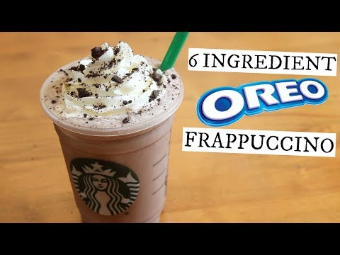 Oreo Frappuccino | Starbucks Secret Menu