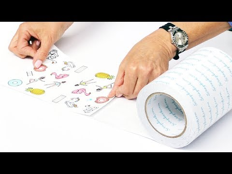 How to Turn Your Stamps and Coordinating Dies into Stickers in a Snap | Scrapbook.com