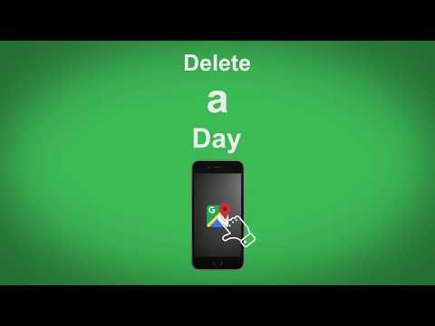 Google Maps   Delete A Day