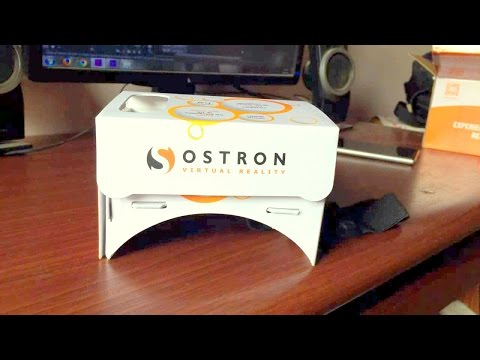 Ostron CardBoard VR Unboxing & Hands ON[English]