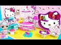 Download  МИНИ дом Семейки Китти Квин Куклы ЛОЛ Сюрприз! Мультик LOL Surprise toy DIY Miniature Dollhouse MP3,3GP,MP4