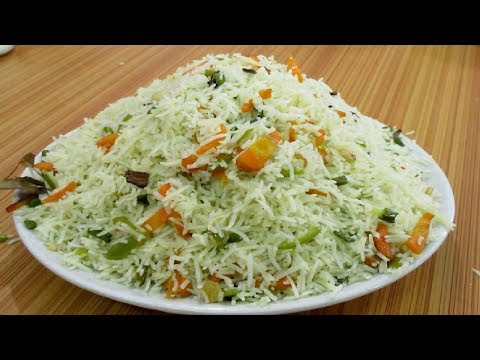Vegetable Fried Rice - Fried Rice Restaurant Style || Food at Street