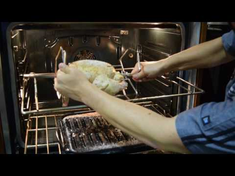 Make Rotisserie Chicken in your Wall Oven