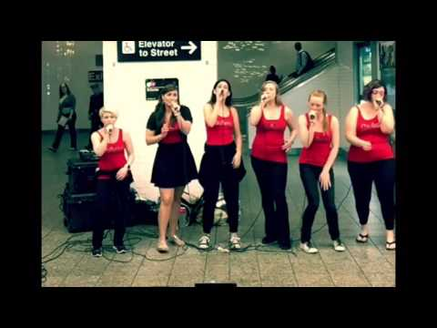 Stiletta performs Remedy at Times Square - MUNY