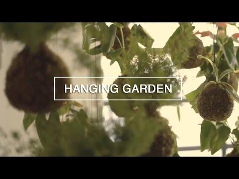 DIY Hanging String Garden - Green Renaissance