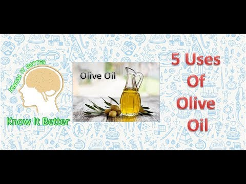 Uses Of Olive Oil | Know It Better | DIY Tips & Tricks