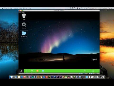 How to run Remix Os in VirtualBox (VM)