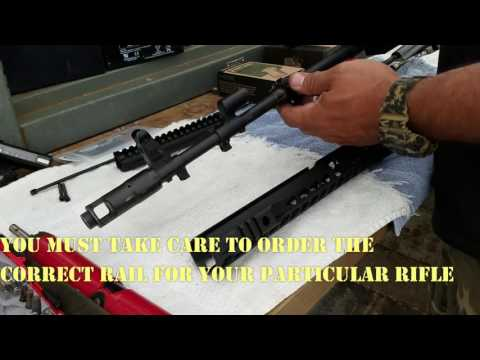 AK Ranch Rifle - SLR Rifleworks AK Handguard and Gas Tube