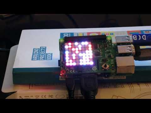 Raspberry Pi Sense Hat Random Lights