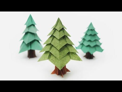 Origami Christmas Tree (Jo Nakashima)