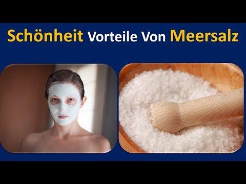 Beauty Wirkung von Meersalz | Als pore Cleanser. & Face exfoliator