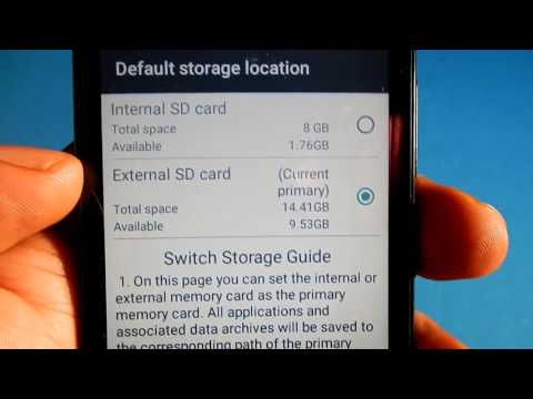 How to move apps to sd card in Lenovo A2010