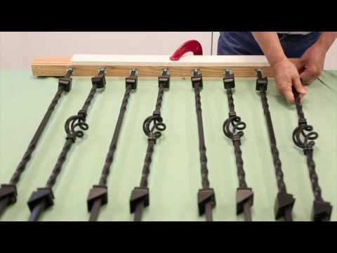 DIY Rail: Metal Baluster Edition