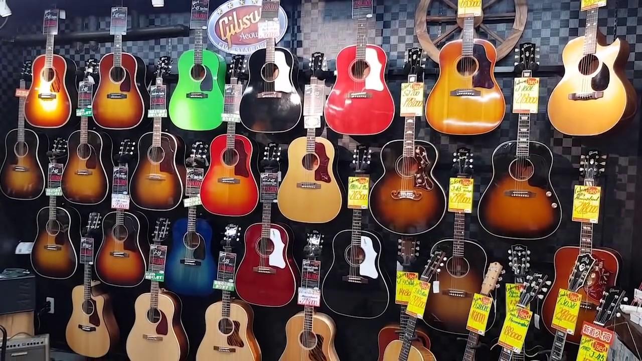 Una calle entera de tiendas de música en TOKIO